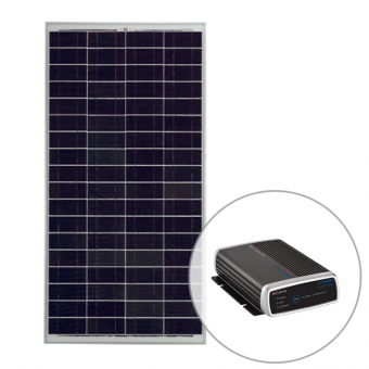 Projecta 12V 160W Polycrystalline Fixed Solar Panel with 25Amp Lithium Charger Pack - Solar Panel Bundles