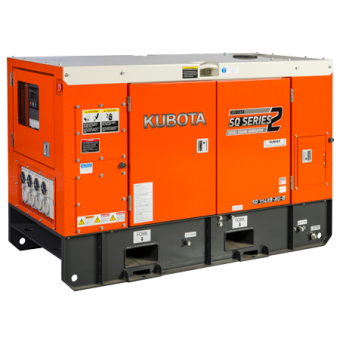 Kubota 14kva Three Phase Diesel Generator SQ3140 - Up to 50kVA Three Phase Stationary Diesel Generators