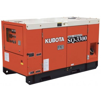 Kubota 30kva Three Phase Diesel Generator SQ3300 - Three Phase Stationary Diesel Generators