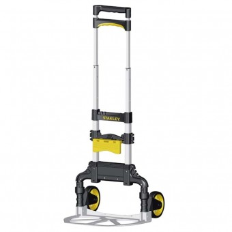 Stanley 60kg Folding Hand Trolley with Basket Clip - Shop Tools