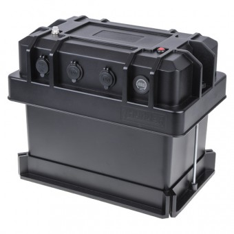 Thunder 12V Heavy Duty Battery Box - Power Packs & Battery Boxes