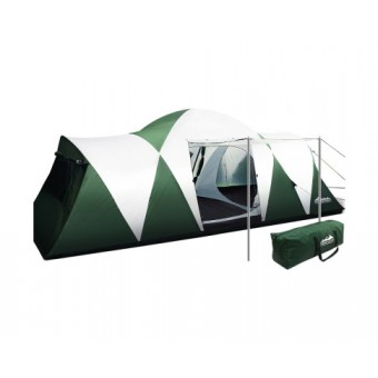 Weisshorn Green 12 Person Camping Tent with 3 Rooms - Camping Tents