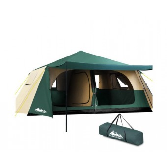 Weisshorn 8 Person Instant Up Camping Tent - Camping Tents