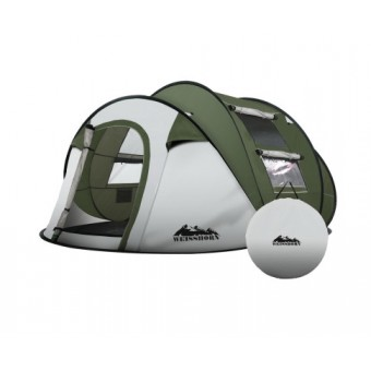 Weisshorn 4-5 Person Instant up Camping Tent - Camping Tents