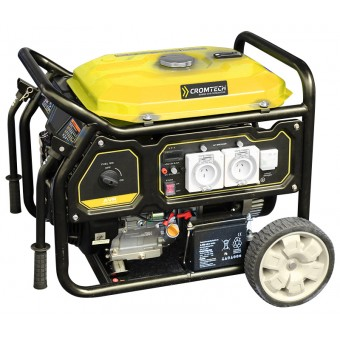 Cromtech 6500W AVR Petrol Generator - Solar & Off Grid Appliances SALE