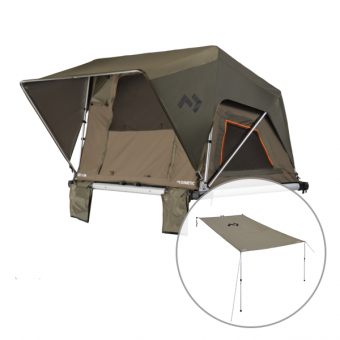 Dometic TRT140M Manual Rooftop 4WD Tent - Rooftop Tents
