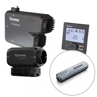 Truma Vario Eco Gas Heater with Black Cowl and E-Kit 1800W Bundle - Caravan Heaters & Hot Water Systems