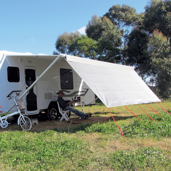 Coast V2 Sunscreen to suit Carefree Rollout Awnings, 10ft - 18ft - Root Catalog