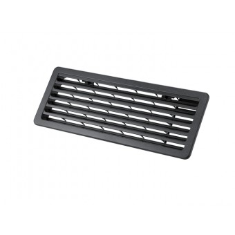 Thetford, Bottom Fridge Vent, Black - Root Catalog