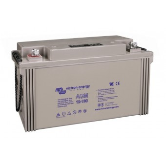 Victron 12V/130Ah AGM Deep Cycle Battery - Off Grid Batteries