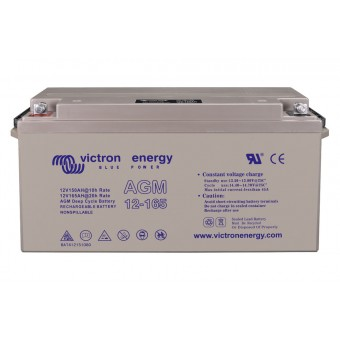 Victron 12V/165Ah AGM Deep Cycle Battery - Off Grid Batteries