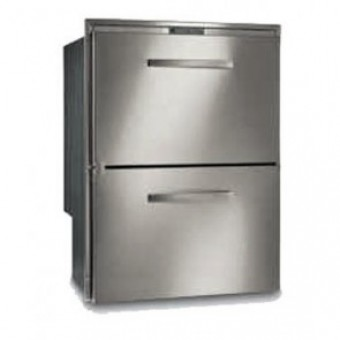 Vitrifrigo DW180.2DT Stainless Steel Two-Drawer Fridge Freezer 144L - Root Catalog