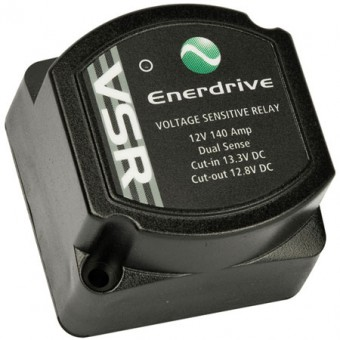 Enerdrive ePOWER 12V 140A Voltage Sensitive Relay Controller - Dual Battery Kits, Isolators & Relays