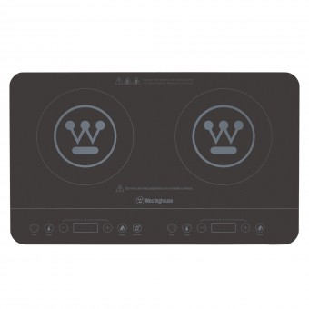 Westinghouse Twin Induction Cooktop - Camping Cooking Appliances