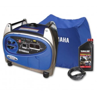 Yamaha EF2400iS inverter generator + bonus pack