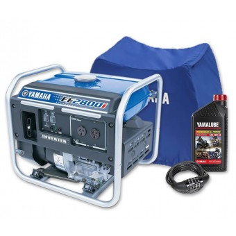 Yamaha 2800w Inverter Generator Pack - Generators & Power