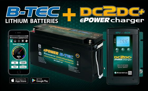 ePOWER DC2DC Battery Charger