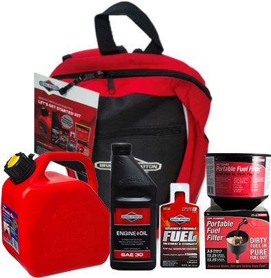 Briggs and Stratton Lets Get Started Pack