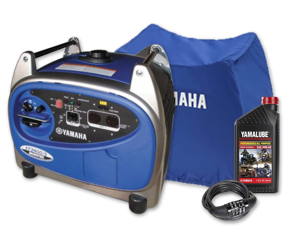 Yamaha 2400w inverter generator recreational generators for Yamaha generator for sale