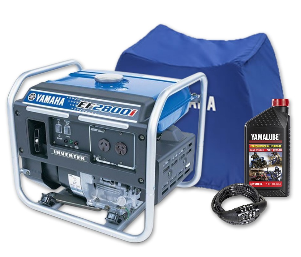 Yamaha 2800w Inverter Generator Recreational Generators My 28 2010 A Compact And Portable 12v Solar Power Circuit That Ef2800i Bonus Pack