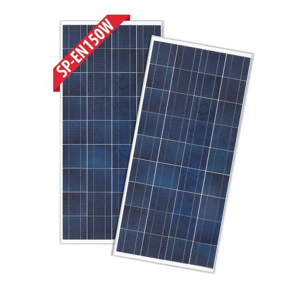 Enerdrive 2 x 150W Fixed Solar Panel, Twin Pack